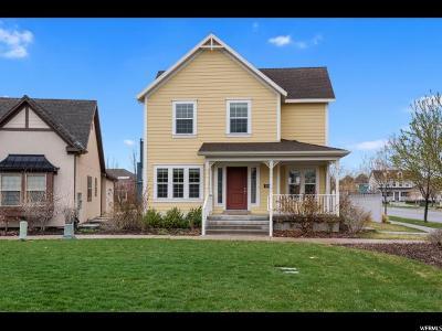 South Jordan Single Family Home For Sale: 10262 S Clarks Hill Dr Hl