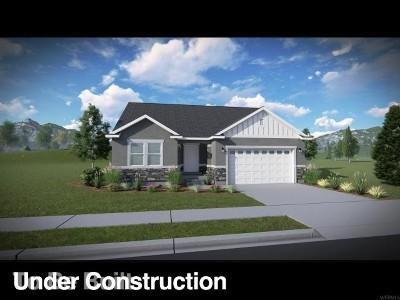 Herriman Single Family Home Under Contract: 6739 W Dry Peak Dr #719