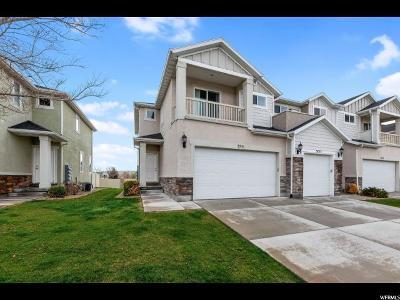 Lehi Townhouse For Sale: 3751 N Prairie Grass Dr