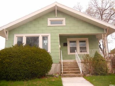 Brigham City Single Family Home Under Contract: 131 W 400 N