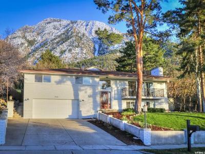 Salt Lake City Single Family Home For Sale: 3808 E Viewcrest Dr