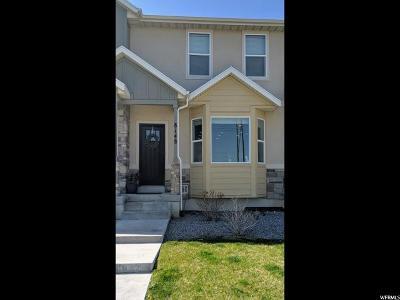 Eagle Mountain Townhouse For Sale: 8148 N Rock Creek Cove Ln