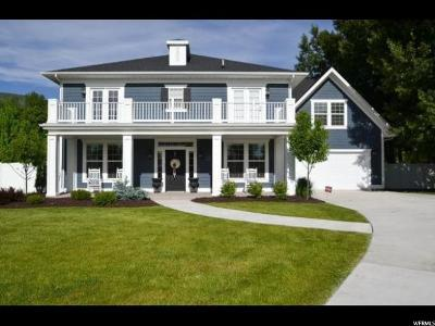 Wasatch County Single Family Home For Sale: 581 N Homestead Dr
