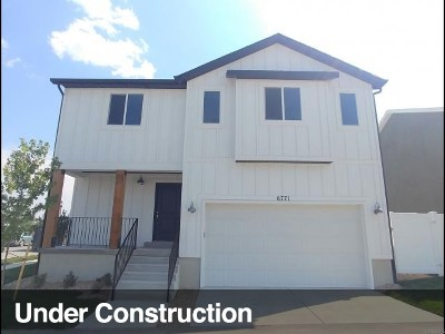 West Jordan Single Family Home Under Contract: 7907 S Gaea Ct W #101
