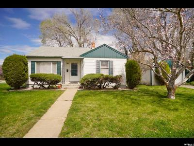 Weber County Single Family Home For Sale: 810 Carney St