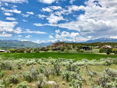 Wasatch County Residential Lots & Land For Sale: 2900 E Brown Duck Mountain Cir (106)