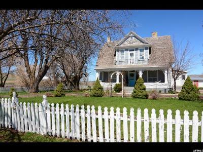 Franklin Single Family Home For Sale: 121 E 100 N