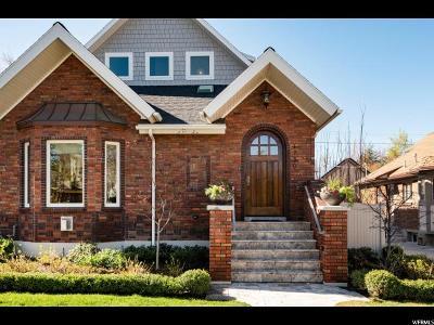 Salt Lake City Single Family Home For Sale: 1730 E Harvard Ave