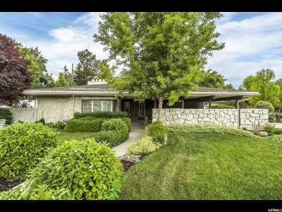 Holladay Single Family Home For Sale: 2252 E Panorama Cir