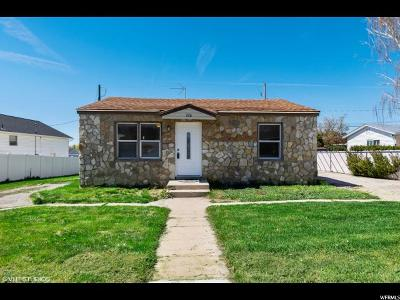 Brigham City Single Family Home Under Contract: 720 S 800 W