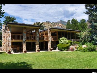 Salt Lake City Single Family Home For Sale: 3928 Mt Olympus Way