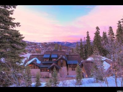 Park City Single Family Home For Sale: 7494 Buckboard Dr
