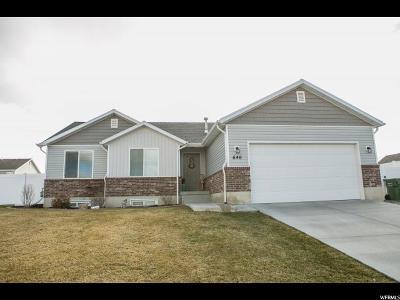Smithfield Single Family Home For Sale: 646 N 130 E