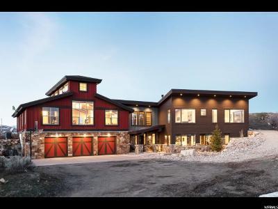 Park City Single Family Home For Sale: 989 E Tollgate Rd