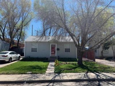 Salt Lake City Single Family Home For Sale: 468 E 3360 S