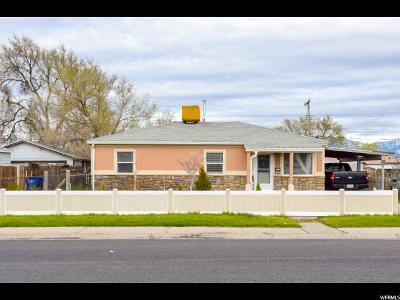 Salt Lake City Single Family Home For Sale: 5695 S 4580 W