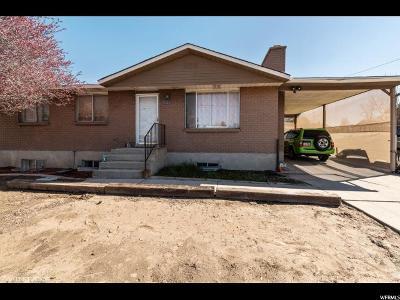 Salt Lake City Single Family Home For Sale: 5153 W 5400 S