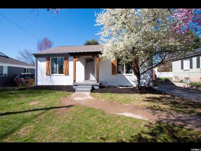Salt Lake City Single Family Home For Sale: 1535 E 3045 S