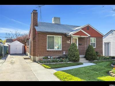 Salt Lake City Single Family Home For Sale: 851 N 900 W