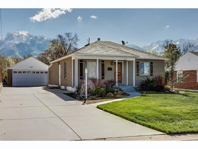 Salt Lake City Single Family Home For Sale: 2821 S Lakeview Dr E