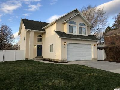 Tooele County Single Family Home For Sale: 209 W Clark St