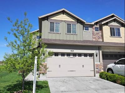 Davis County Townhouse For Sale: 868 W Old Shepard Rd