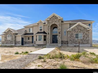 Grantsville UT Single Family Home For Sale: $1,035,000