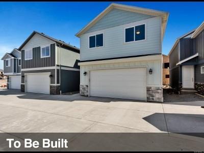 Eagle Mountain Single Family Home For Sale: 8696 N Pebble Aly E #H62