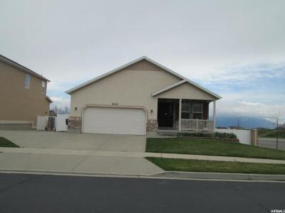 West Jordan Single Family Home For Sale: 8329 S 6430 W