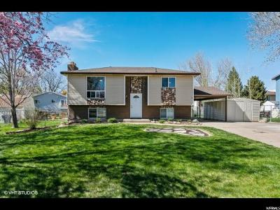Kaysville Single Family Home For Sale: 114 W 450 S