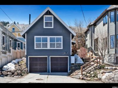 Park City Single Family Home For Sale: 925 Woodside Ave