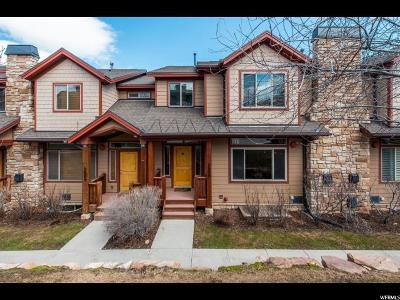 Park City Townhouse For Sale: 5600 N Oslo Ln #T132