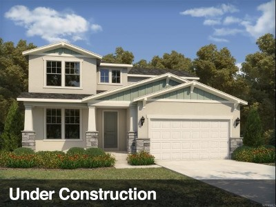 West Jordan Single Family Home Under Contract: 8046 S 6910 W