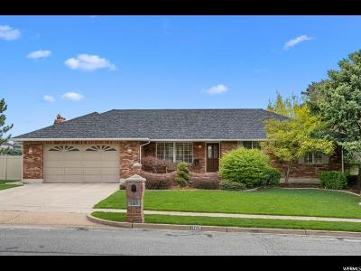 Fruit Heights Single Family Home Backup: 1168 Pheasant View Dr