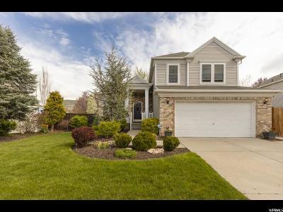 Draper Single Family Home Under Contract: 543 E High Berry Ln