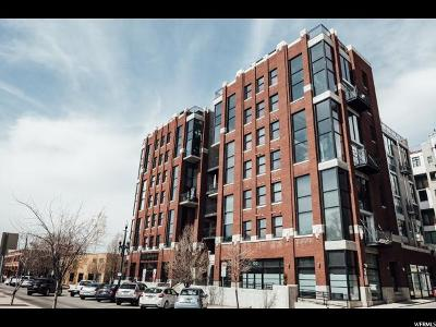 Salt Lake City Condo Under Contract: 360 W 300 S #237