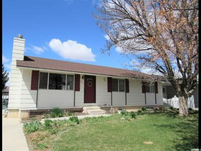 Price Single Family Home For Sale: 815 N 1100 E
