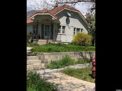 Pleasant Grove Single Family Home Under Contract: 453 E Center St
