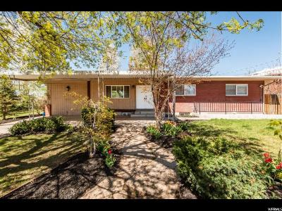 Orem Single Family Home For Sale: 1685 S 165 W