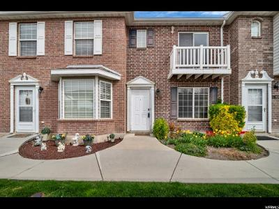 Provo Townhouse For Sale: 2836 W 1190 N