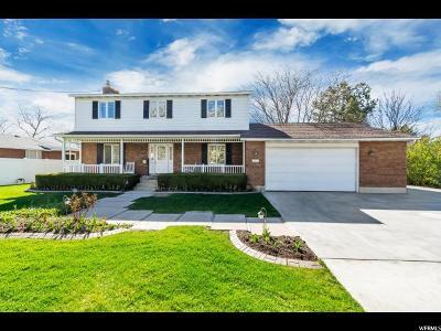 Draper Single Family Home Under Contract: 12730 S 1300 E