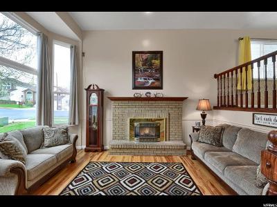 Layton Single Family Home For Sale: 1468 E Snowcreek Dr