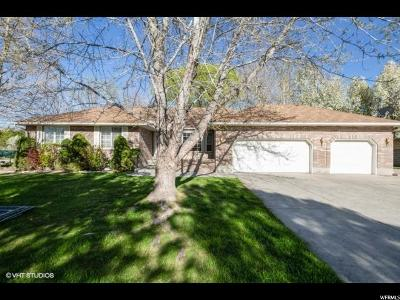 South Jordan Single Family Home Under Contract: 9413 S 1980 W