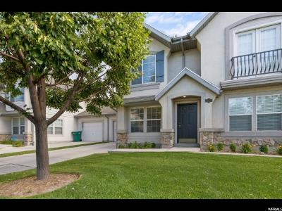 Provo, Orem Townhouse For Sale: 1171 W 1330 S