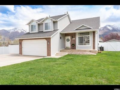 South Weber Single Family Home Under Contract: 7852 S 1800 E