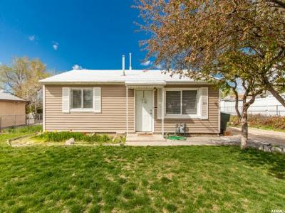 Tooele Single Family Home Under Contract: 388 W 240 S