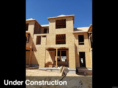 South Jordan Townhouse Under Contract: 4604 W Serendipity Way S #221
