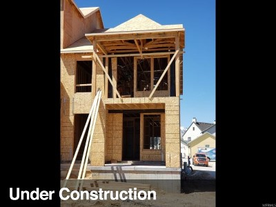 South Jordan Townhouse Under Contract: 4606 W Serendipity Way S #220