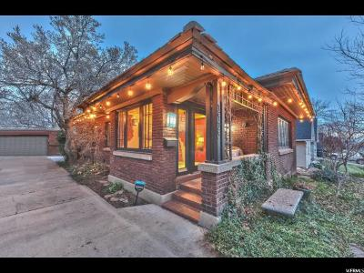 Ogden Single Family Home Under Contract: 1425 E 25th St