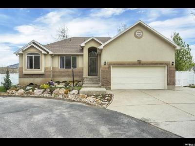South Weber Single Family Home Under Contract: 1962 E 7550 S